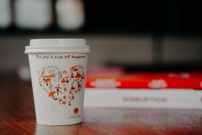 Три способа рекламы на бумажных стаканчиках